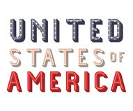 Usa and Labor day design Stock Images