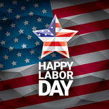 USA Labor day vector background or poster. Labor day icon Stock Photo