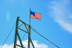 USA lag blowing near the coast of Maine Stock Photos