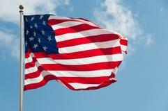 USA-Landesflagge stockfotografie