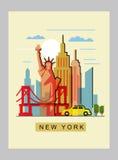 USA and landmark Royalty Free Stock Photos