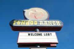 USA - Las Vegas - die funhog Ranch stockfoto
