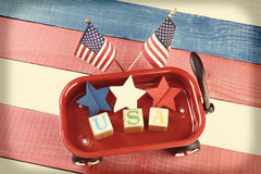USA-Lastwagen Lizenzfreie Stockfotografie