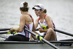 USA Lightweight Women's Double Stock Photography