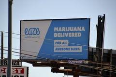 USA Los Angeles, marijuana Arkivfoton