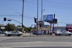 USA Los Angeles, marijuana Arkivbild