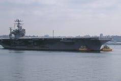 USA Lotniskowiec Obraz Royalty Free