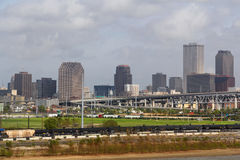 USA, Louisiana, New Orleans - Fluss Mississipi Lizenzfreie Stockbilder
