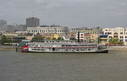 USA, Louisiana, New Orleans - Mississippi River Stock Images