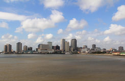 USA, Louisiana, New Orleans - Mississippi River Royalty Free Stock Photos