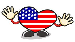 USA love Royalty Free Stock Photos