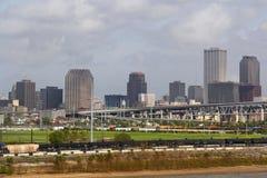 USA, Luizjana, Nowy Orlean - rzeka mississippi Obrazy Royalty Free