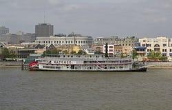 USA, Luizjana, Nowy Orlean - rzeka mississippi Obrazy Stock