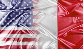 USA and Malta. Relations between two countries. Conceptual image Royalty Free Stock Photos