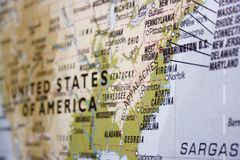 Free USA Map Royalty Free Stock Photos - 16898348