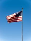 USA-Markierungsfahne Stockfotos