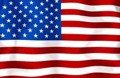USA-Markierungsfahne stock abbildung