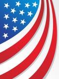USA-Markierungsfahne Lizenzfreie Stockfotografie