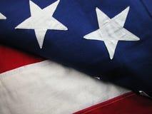 USA-Markierungsfahne-Streifen und Sterne Lizenzfreies Stockbild
