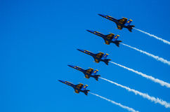 USA marynarki wojennej Błękitni aniołowie Airshow Fotografia Stock