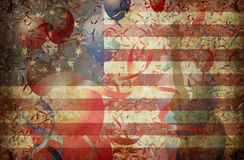 Usa mega montage 1 Royalty Free Stock Photo