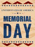 USA Memorial Day Abstract. Creative  abstract for USA Memorial Day with nice and creative illustration in a beautiful background Stock Photos