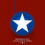 USA Memorial Day Abstract Royalty Free Stock Images