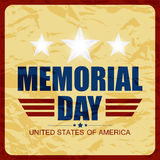 USA Memorial Day Abstract Royalty Free Stock Image
