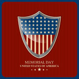 USA Memorial Day Abstract. Creative  abstract for USA Memorial Day with nice and creative illustration in a beautiful background Vector Illustration