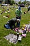 _USA_Memorial Tag IDAHOS Stockbild