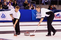 USA Men's Curling Team Stock Photos