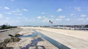 USA/Mexico border Stock Image