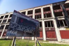 USA - Michigan, Detroit - Obraz Royalty Free