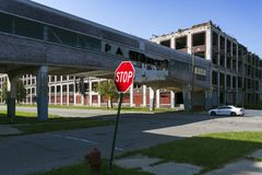 USA - Michigan - Detroit royalty free stock photography