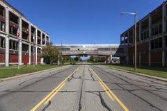 USA - Michigan - Detroit. Ex factory Packard stock photos