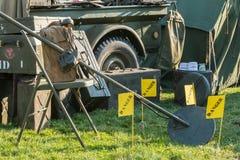 USA militarny kopalniany detektor Fotografia Royalty Free