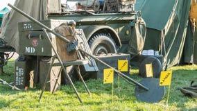 USA militarny kopalniany detektor Fotografia Stock