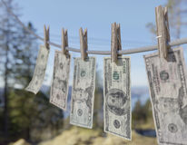 USA money laundering Stock Images