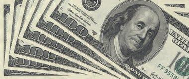USA money. macro. A USA money 100 $. macro Stock Photo