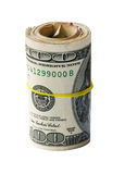 USA Money Roll Royalty Free Stock Photos