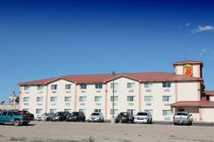USA motel obrazy royalty free