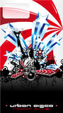 USA-Musik-Ereignis-Hintergrund Lizenzfreie Stockbilder