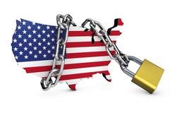 USA National Security Concept Stock Photos