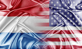 USA and Netherlands Stock Photo