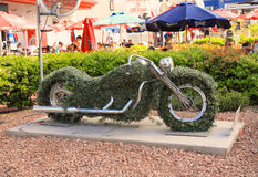 USA, Nevada: Las Vegas, Harley Davidson rzeźba - Obrazy Royalty Free