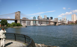 USA, New York. Usa, America, New York, Skyline and scycrapers Royalty Free Stock Image