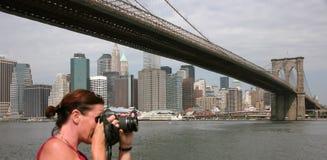 USA, New York. Usa, America, New York, Skyline and scycrapers Royalty Free Stock Images