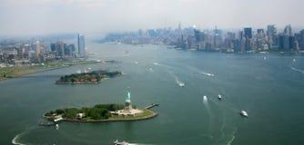 USA, New York. Usa, America, New York, Skyline and scycrapers Royalty Free Stock Photos