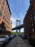 USA. New-York. Brooklyn. Dumbo royalty free stock image