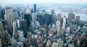 USA, New York from Empire State Building Royalty Free Stock Photography
